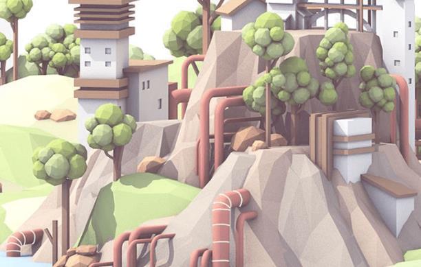 3D三维建筑动画如何表现园林景观